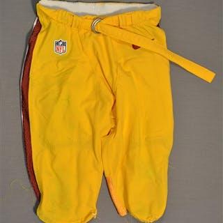 Robinson, Trenton Yellow Pants Washington Redskins 2014 #34 Size: 30
