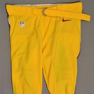 Jenkins, Jarvis Yellow Pants Washington Redskins 2014 #99 Size: 42-SHORT