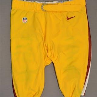 Cofield, Barry Yellow Pants Washington Redskins 2014 #96 Size: 44