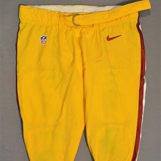 Bowen, Stephen Yellow Pants Washington Redskins 2014 #72 Size: 44