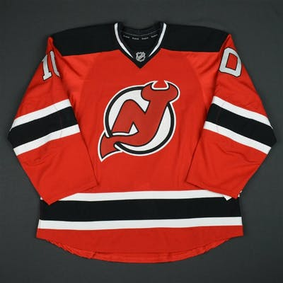 Zacha, Pavel Red Set 1 - Game-Issued (GI) New Jersey Devils 2015-16