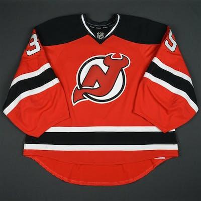 Schneider, Cory Red Set 3 New Jersey Devils 2015-16 #35 Size: 58G