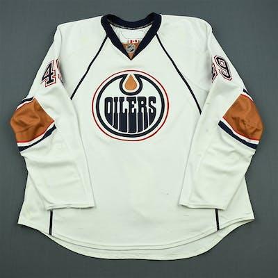 Peckham, Theo White Set 2 Edmonton Oilers 2010-11 #49 Size: 58+