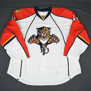 Bitz, Byron * White Florida Panthers 2009-10 #12 Size: 58
