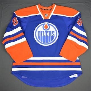 Davidson, Brandon Blue Set 1 Edmonton Oilers 2015-16 #88 Size: 58
