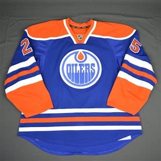 Nurse, Darnell Blue Set 1 Edmonton Oilers 2015-16 #25 Size: 58