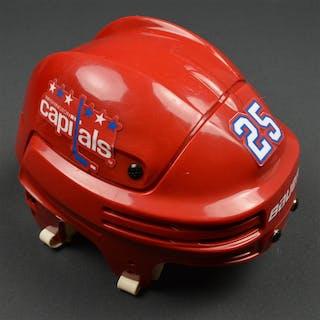 Chimera, Jason Red Third, Bauer Helmet Washington Capitals 2015-16