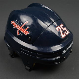 Chimera, Jason Blue, Bauer Helmet Washington Capitals 2015-16 #25 Size: Small