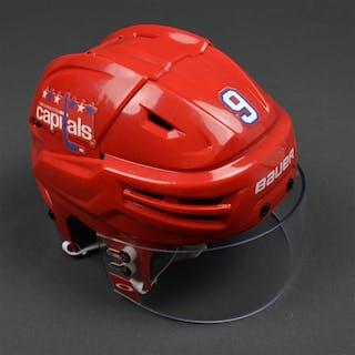 Orlov, Dmitry Red Third, Bauer Helmet w/ Oakley Shield Washington