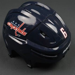 Weber, Mike Blue, Bauer Helmet Washington Capitals 2015-16 #6 Size: Medium