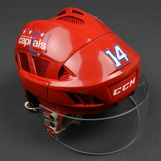 Williams, Justin Red Third, CCM Helmet w/ Oakley Shield Washington