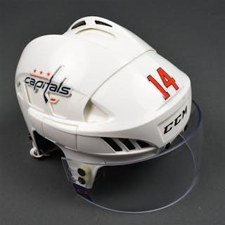 Williams, Justin White, CCM Helmet w/ Oakley Shield Washington Capitals