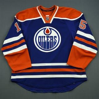 Pitlick, Tyler Blue Set 2 Edmonton Oilers 2014-15 #15 Size: 56