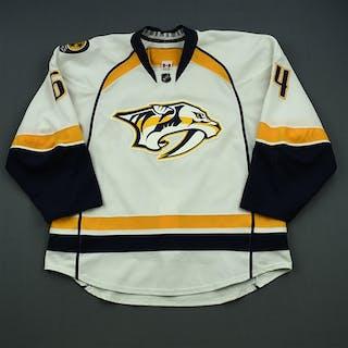 Bartley, Victor White Set 1 Nashville Predators 2014-15 #64 Size: 56