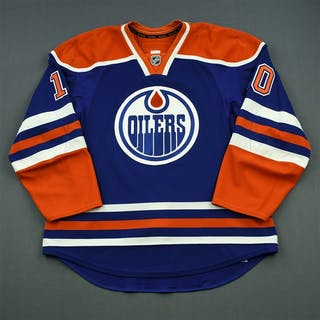 Yakupov, Nail Blue Set 1 Edmonton Oilers 2014-15 #10 Size: 56