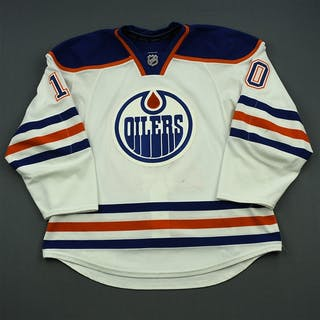 Yakupov, Nail White Set 1 Edmonton Oilers 2014-15 #10 Size: 56