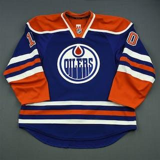Yakupov, Nail Blue Set 2 Edmonton Oilers 2014-15 #10 Size: 56