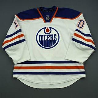 Yakupov, Nail White Set 2 Edmonton Oilers 2014-15 #10 Size: 56