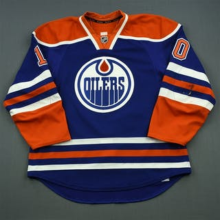Yakupov, Nail Blue Set 3 Edmonton Oilers 2014-15 #10 Size: 56