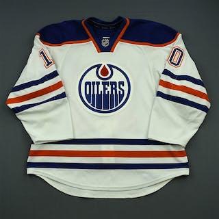 Yakupov, Nail White Set 3 Edmonton Oilers 2014-15 #10 Size: 56