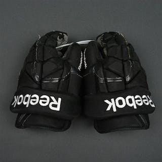 Raffl, Michael Reebok 11K Gloves - Photo-Matched Philadelphia Flyers