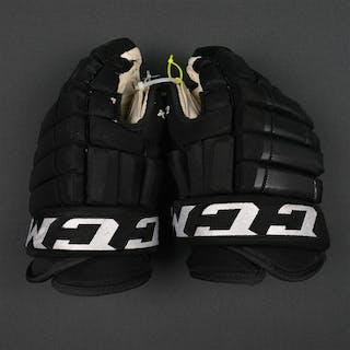 Laughton, Scott CCM HG 97 Gloves - Photo-Matched Philadelphia Flyers