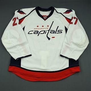 Alzner, Karl White Set 2 Washington Capitals 2013-14 #27 Size: 56