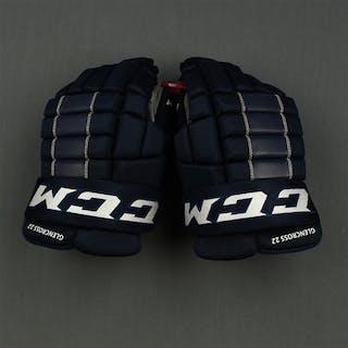 Glencross, Curtis CCM Gloves, worn on April 11, 2015 Washington Capitals