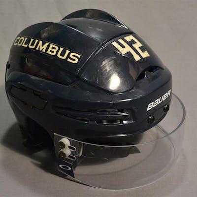 Anisimov, Artem Blue Third, Bauer Helmet w/ Visor, Hockey Fights Cancer