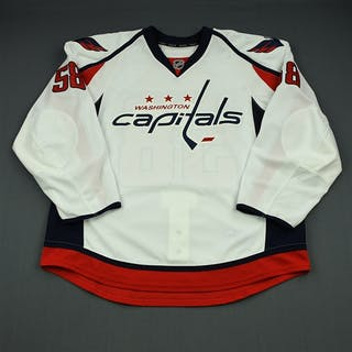 Carrick, Connor White Set 2 - Game-Issued (GI) Washington Capitals