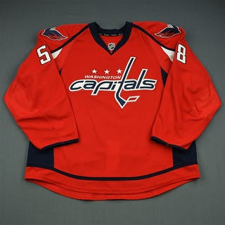 Carrick, Connor Red Set 3 Washington Capitals 2013-14 #58 Size: 56