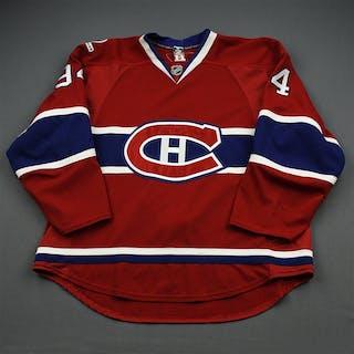 Pyatt, Tom * Red Set 2/Playoffs - Centennial Patch Montreal Canadiens