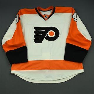Couturier, Sean White Set 2 Philadelphia Flyers 2014-15 #14 Size: 56