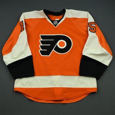 Del Zotto, Michael Orange Set 1 Philadelphia Flyers 2014-15 #15 Size: 54