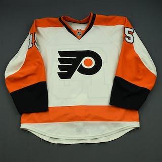 Del Zotto, Michael White Set 1 Philadelphia Flyers 2014-15 #15 Size: 54
