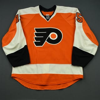 Del Zotto, Michael Orange Set 2 Philadelphia Flyers 2014-15 #15 Size: 54