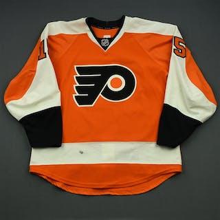 Del Zotto, Michael Orange Set 3 Philadelphia Flyers 2014-15 #15 Size: 52