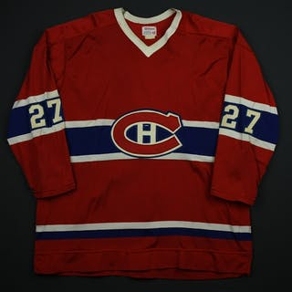 Chartraw, Rick * Red Montreal Canadiens 1976-77 #27 Size: 48 + 1