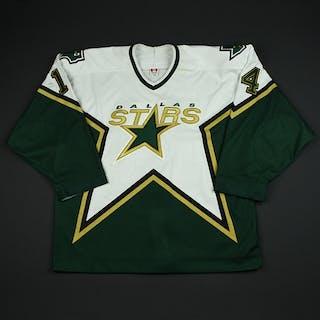 Barnes, Stu White Playoffs Dallas Stars 2003-04 #14 Size: 54