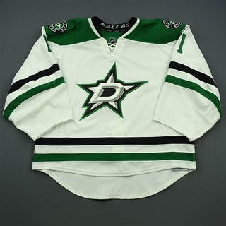 Enroth, Jhonas White Set 3 Dallas Stars 2014-15 #1 Size: 58 G