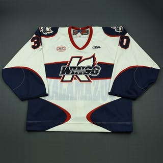 Ostergard, Brooks White Set 1 Kalamazoo Wings 2012-13 #30 Size: 58G