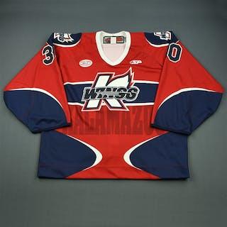Ostergard, Brooks Red Set 1 Kalamazoo Wings 2012-13 #30 Size: 58G
