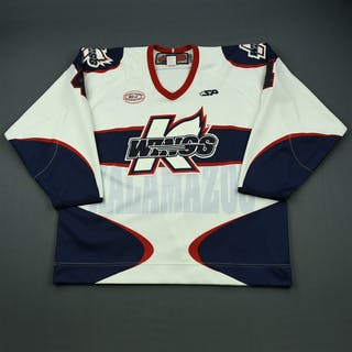 Page, Kyle White Set 1 Kalamazoo Wings 2012-13 #4 Size: 56