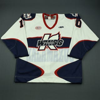 Rai, Prab White Set 1 Kalamazoo Wings 2012-13 #10 Size: 56