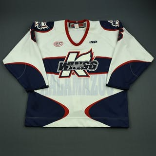 Young, Harry White Set 1 Kalamazoo Wings 2012-13 #6 Size: 56