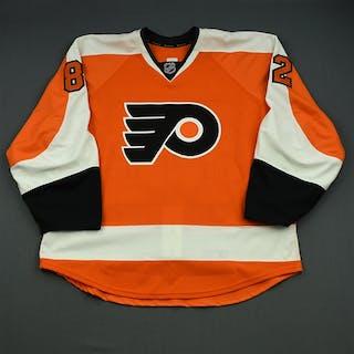 Flemming, Brett Orange Set 1 - Game-Issued (GI) Philadelphia Flyers
