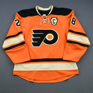 Giroux, Claude Third Set 1 w/C Philadelphia Flyers 2014-15 #28 Size: 52