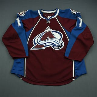 Walter, Ben Burgundy Set 1 - Game-Issued (GI) Colorado Avalanche 2010-11