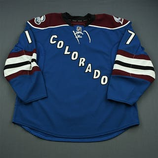 Walter, Ben Third Set 1 - Game-Issued (GI) Colorado Avalanche 2010-11