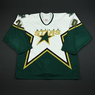 Miettinen, Antti White Set 3 / Playoffs Dallas Stars 2005-06 #20 Size: 56